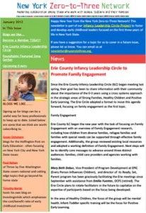 NYZTT Newsletter January 2012