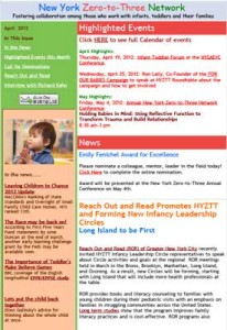 NYZTT Newsletter April 2012