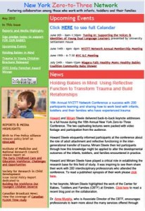 NYZTT Newsletter May 2012